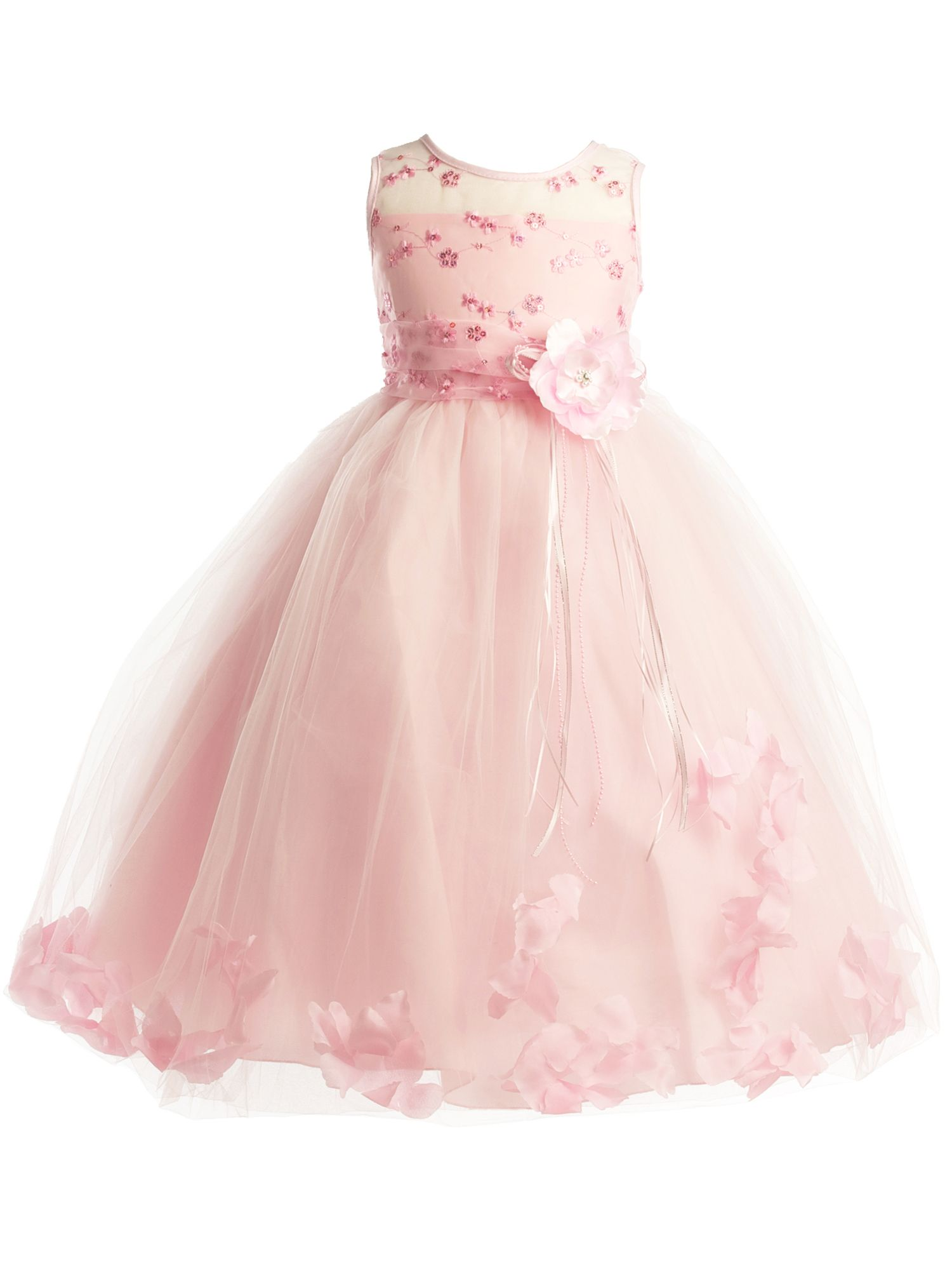 Democracy Apparel Dempsey Marie Girls Embroided Flower Girl Dress With Floating Petals Sizes 2 To 12 Walmart Com Dresses Flower Girl Flower Girl Dresses [ 2000 x 1500 Pixel ]