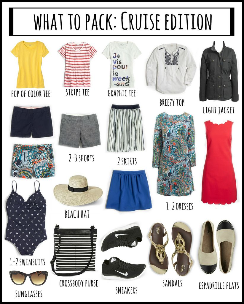 What To Pack Cruise Edition Midwest Blogger Love