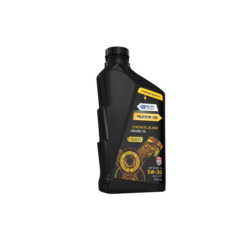 Types Of Oil For Cars >> Miles Lubricants Milesyn Sb 5w30 1 Qt Synthetic Blend