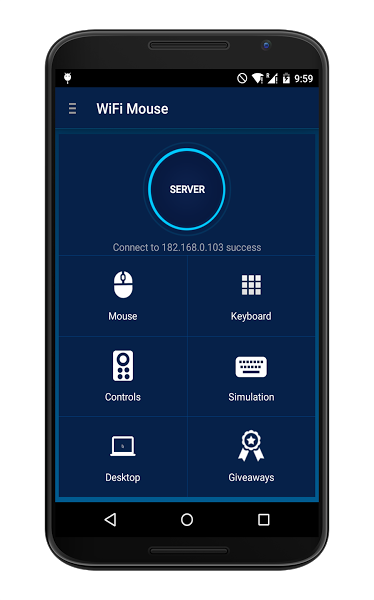 Apklio - Apk for Android: WiFi Mouse Pro 1 7 2 apk | Android Apps