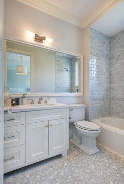 Idea For Cara Bath Long Mirror Wall Over Vanity And Toilet Cool