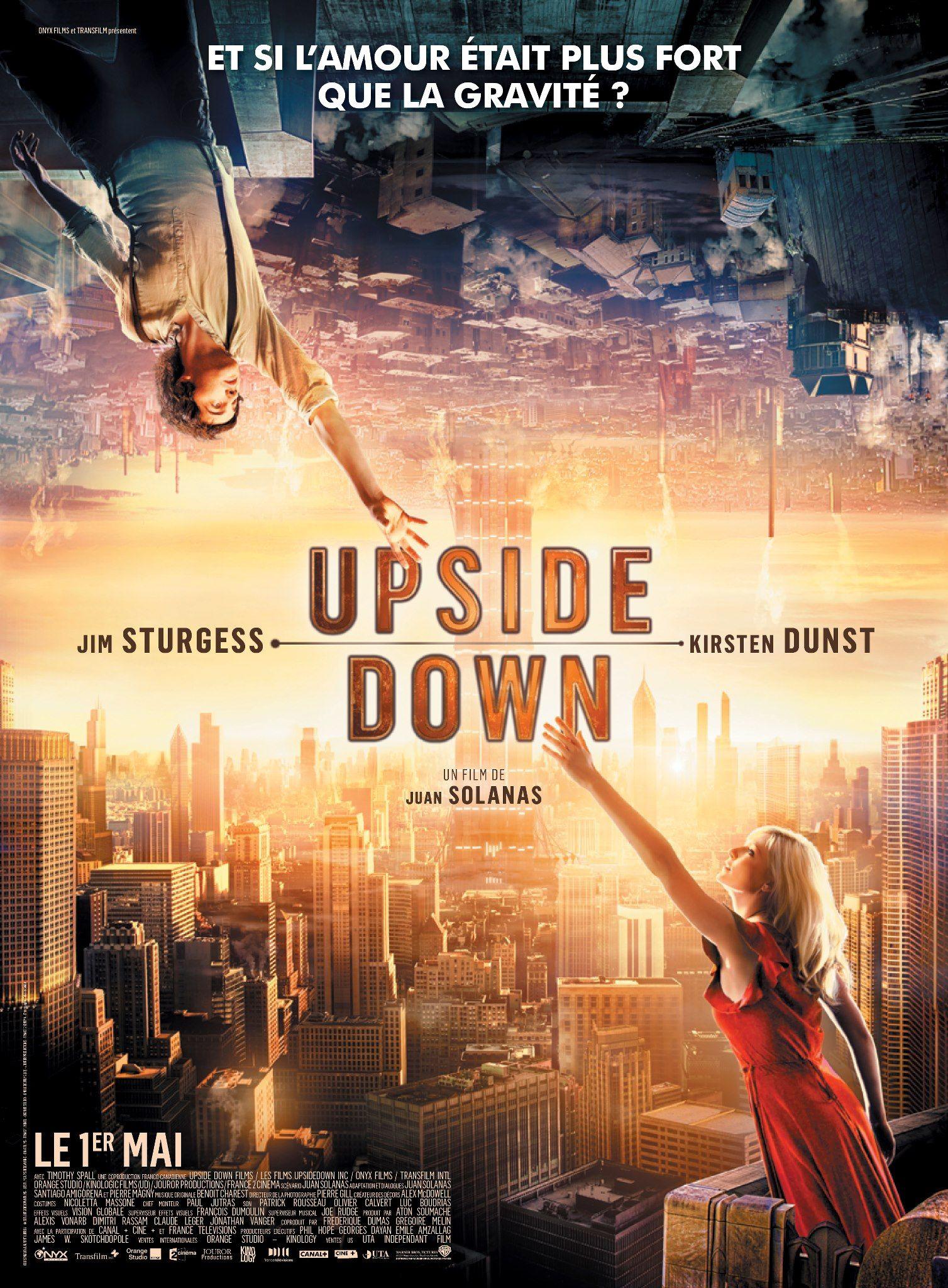Upside Down Movie 2012 Peliculas de disney, Peliculas, Cine