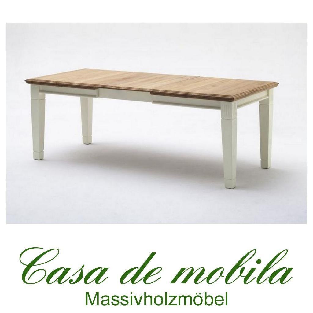Massivholz Esstisch Ausziehbar 180 240x95 Holz Kiefer Massiv