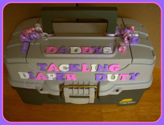 Daddys Tackling Diaper Duty - Diaper Cake - Boy Diaper Cake - Girl Diaper Cake - Baby Gift - Baby Shower