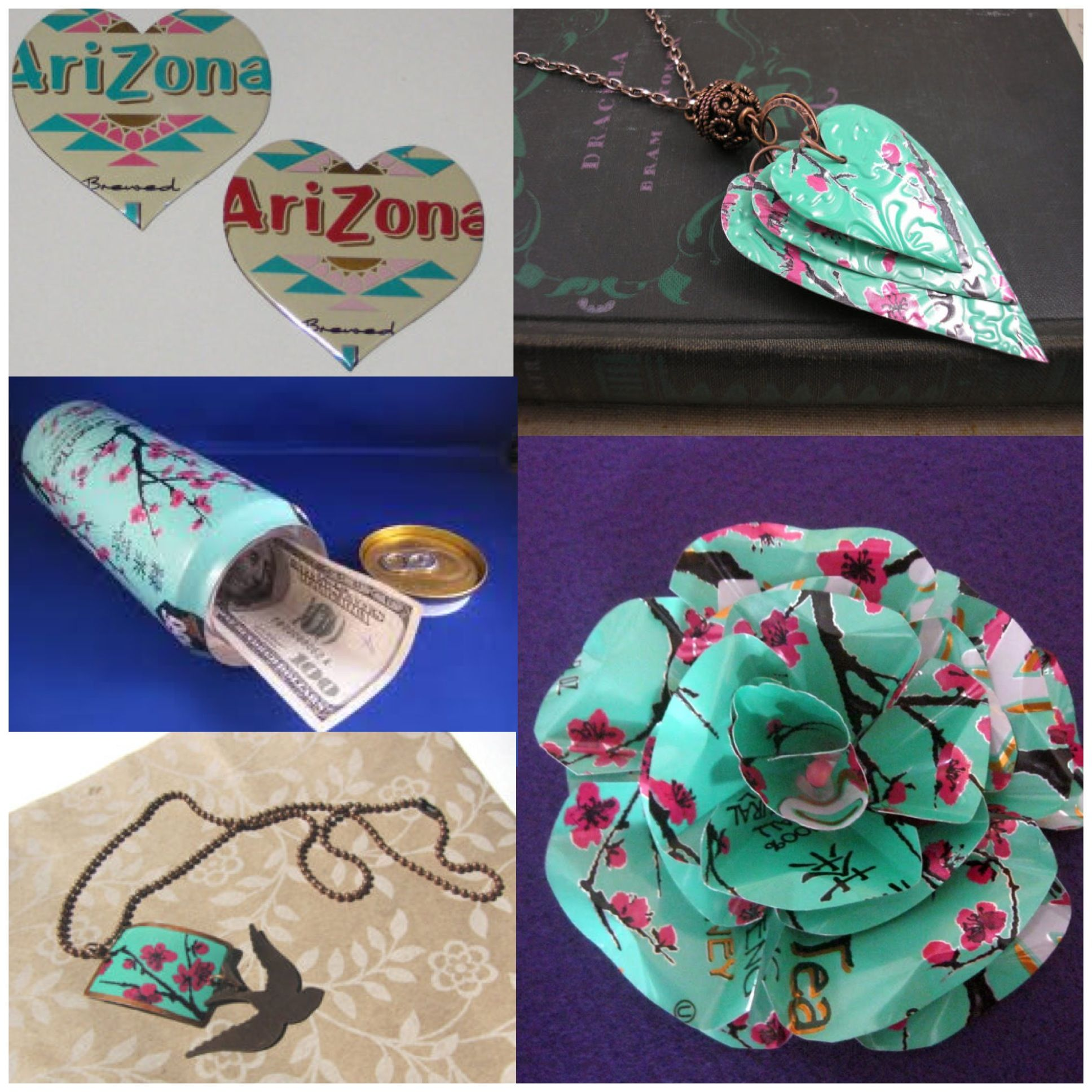 CRAFTS with arizona tea cans