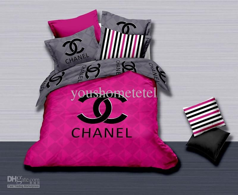 Wholesale Bed In A Bag Buy Luxury Brand Name Printed 100 Cotton