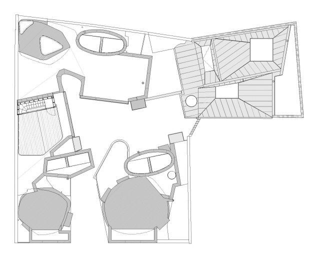 Four Houses By Peter Salter London Uk House Roof Roof Plan Architecture