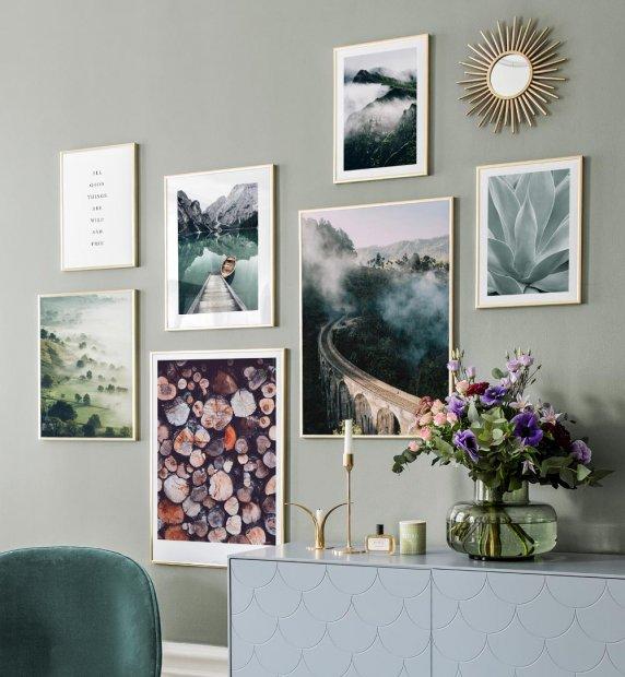Pin Van Lotte Hartman Op Morane Style Combo Fotowand Inspiratiemuur Decoratieve Muren