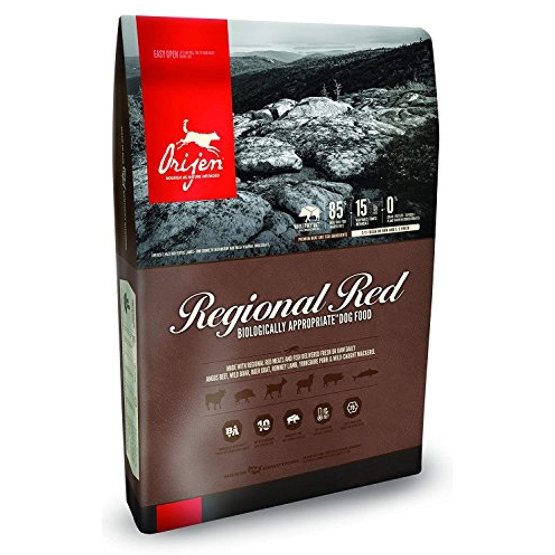 Orijen 13 LB Dry Dog Food, Regional Red Formula. 13 LB