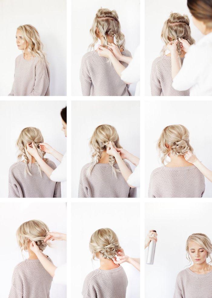Quelle Coiffure Facile Cheveux Long Vous Va Et Comment La Realiser 67 Idees Archzine Fr Idee Coiffure Facile Idee Chignon Coiffure Cheveux Long Facile
