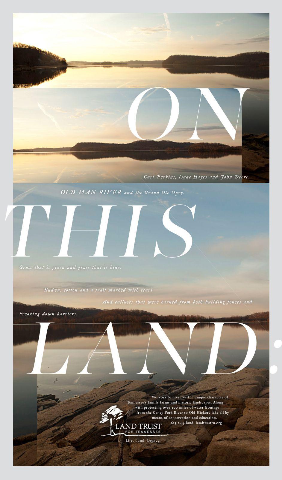 Landtrust Of Tennessee Landtrust 2 Graphic Design Posters Graphic Design Books