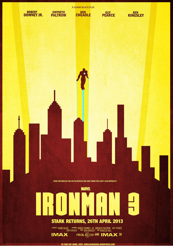 Poster design reference - Ironman 3 Minimalist Movie Poster Design By Hektikdesigns Deviantart Com On Deviantart