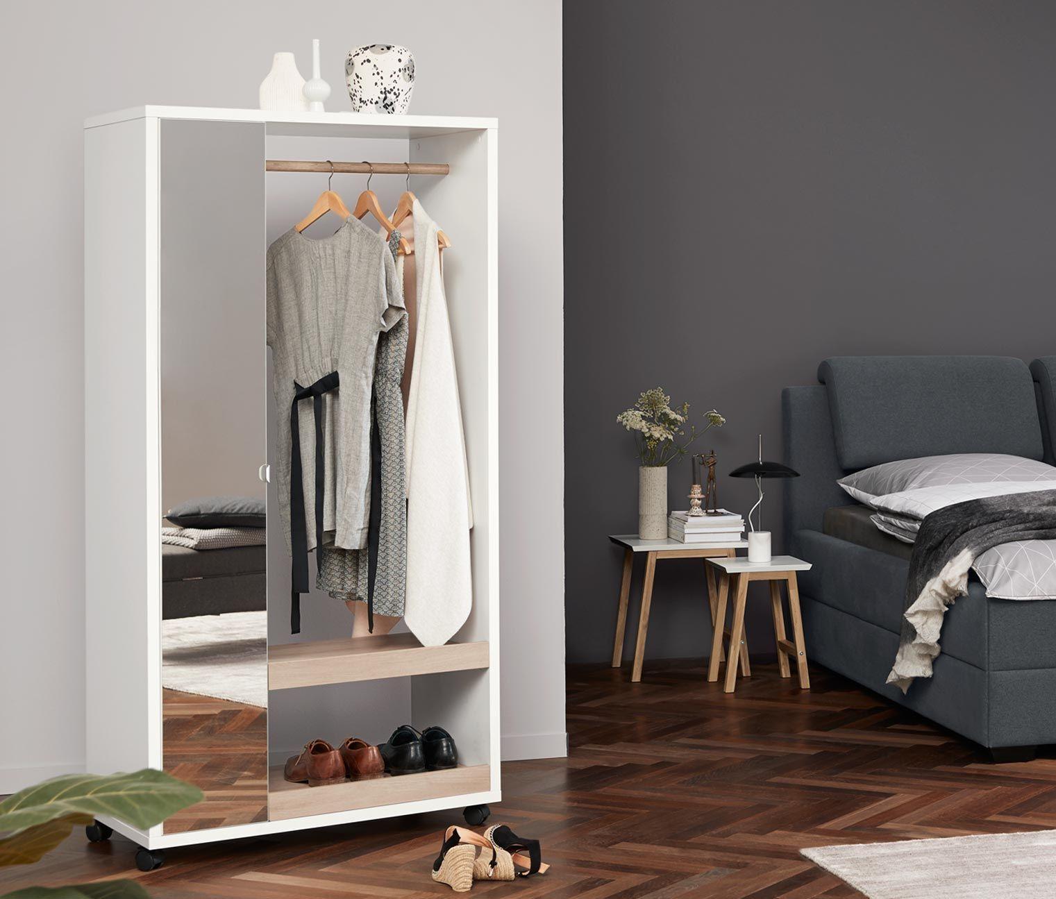 Mobile Spiegelschrank Garderobe Spiegelschrank Haus Deko Schrank