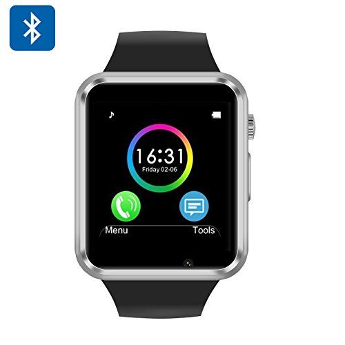 Smart Watch Phone - GSM, Phone Call, SMS, Remote Camera Trigger, Sleep Monitor, Step + Calorie Counter. Smart Watches. Cell Phone Watch. Smart Watch Phone.