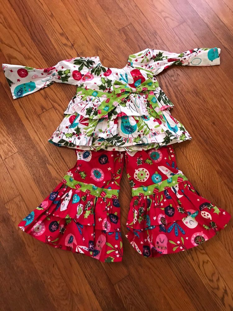 b5ccf9039900d NWOT Jelly The Pug Sz 3T Nicola 2 pcs. Set Christmas Day Collection  #fashion #clothing #shoes #accessories #babytoddlerclothing  #girlsclothingnewborn5t ...