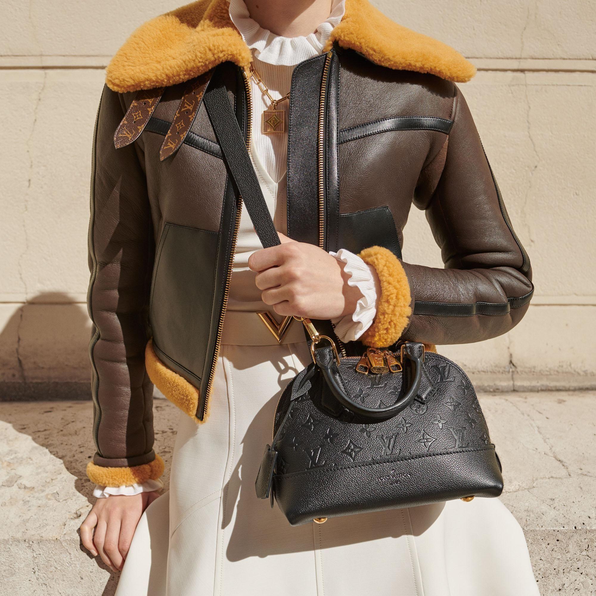 Neo Alma Bb Monogram Empreinte Leather Handbags Louis Vuitton In 2020 Louis Vuitton Alma Louis Vuitton Vuitton Outfit