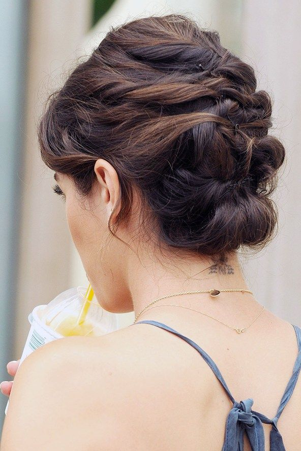 hair styles for your updo for thin hair wedding 2850