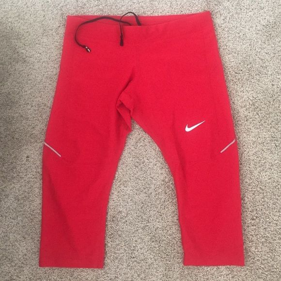 Nike Dri-Fit running capri Worn once! In excellent condition. Very comfortable. Nike Other