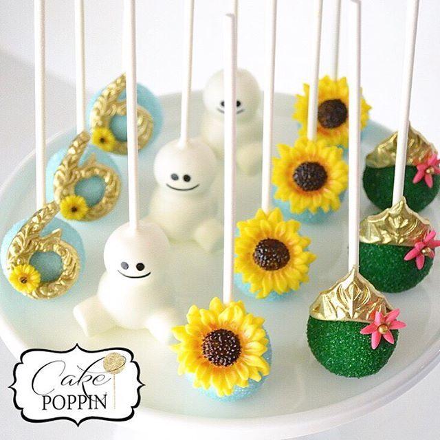 Instagram media cakepoppn - Frozen Fever cake pops for one ...