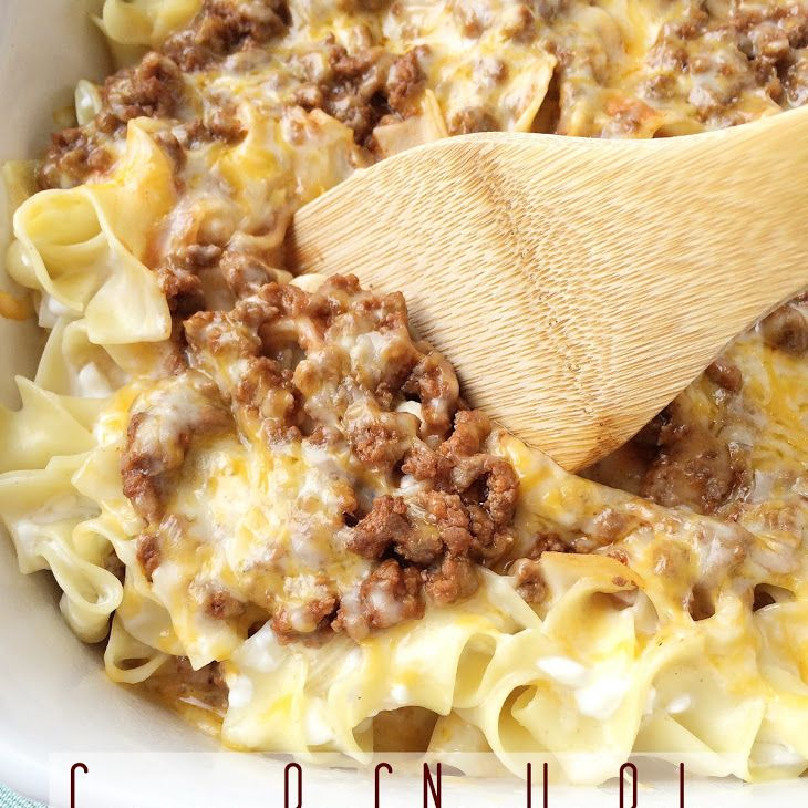 Creamy Beef Noodle Bake Recipe Yummly Recipe Recipes Beef Recipes Food
