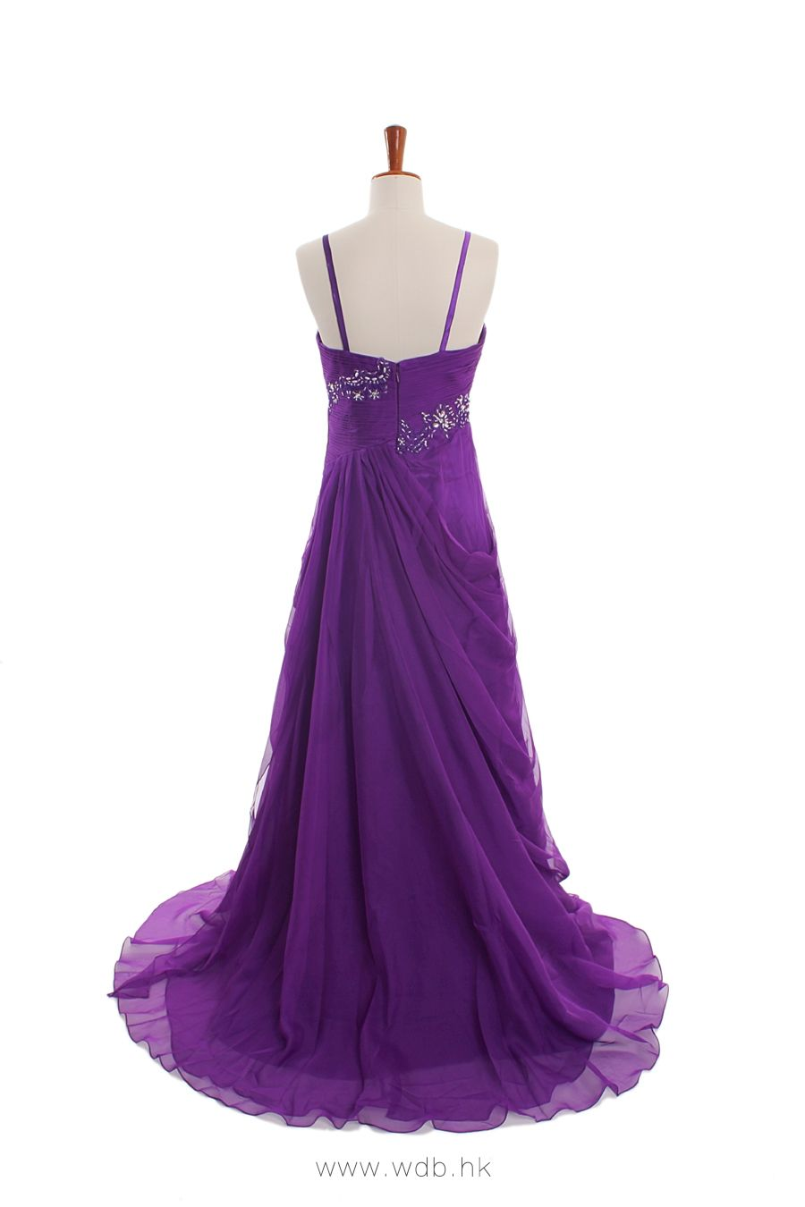 2012 Fall Spaghetti Straps Silk Chiffon Bridesmaid Dress $140 ...