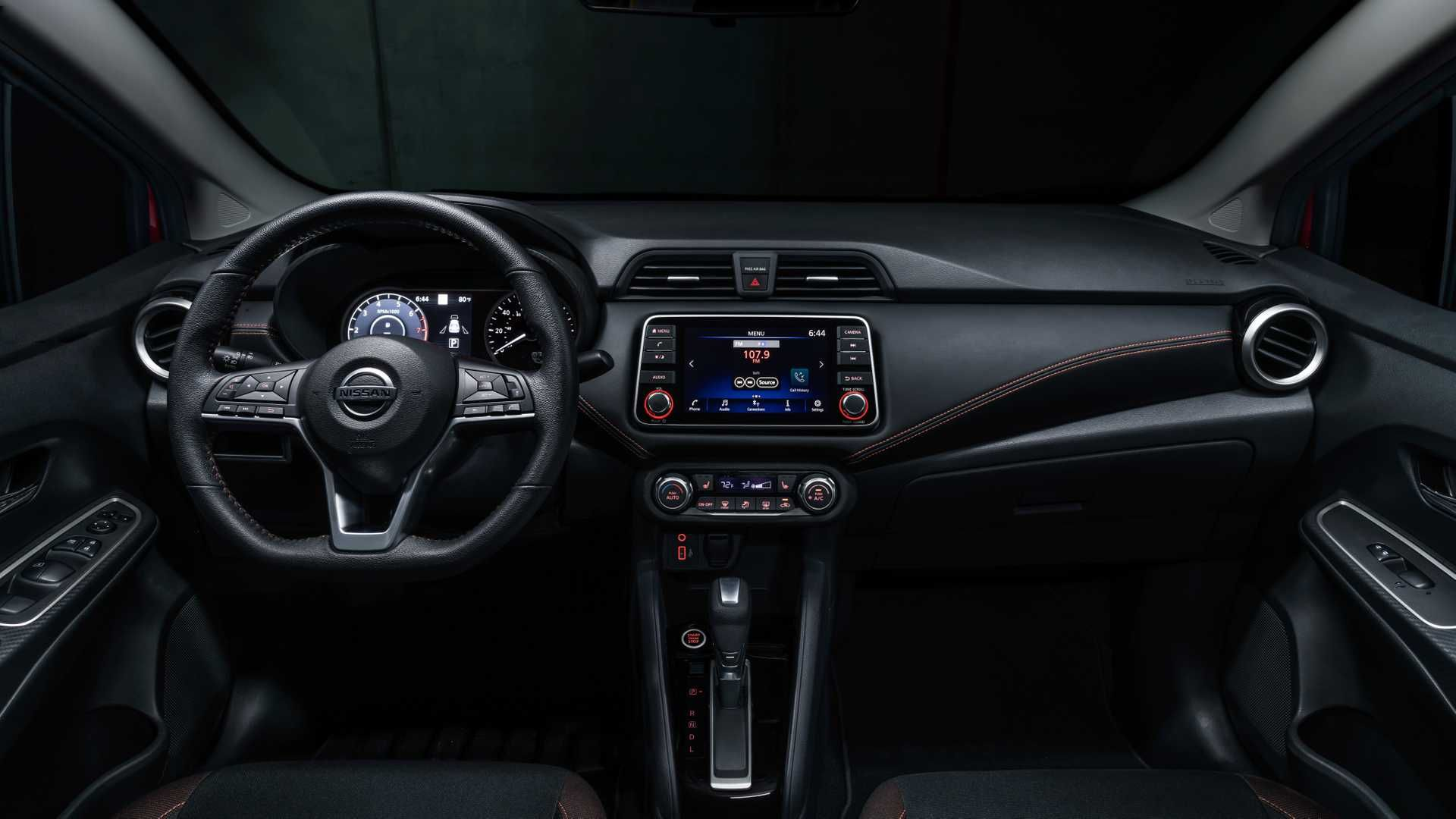 Perfect Nissan Versa Advance 2020 Interior And View Di 2020