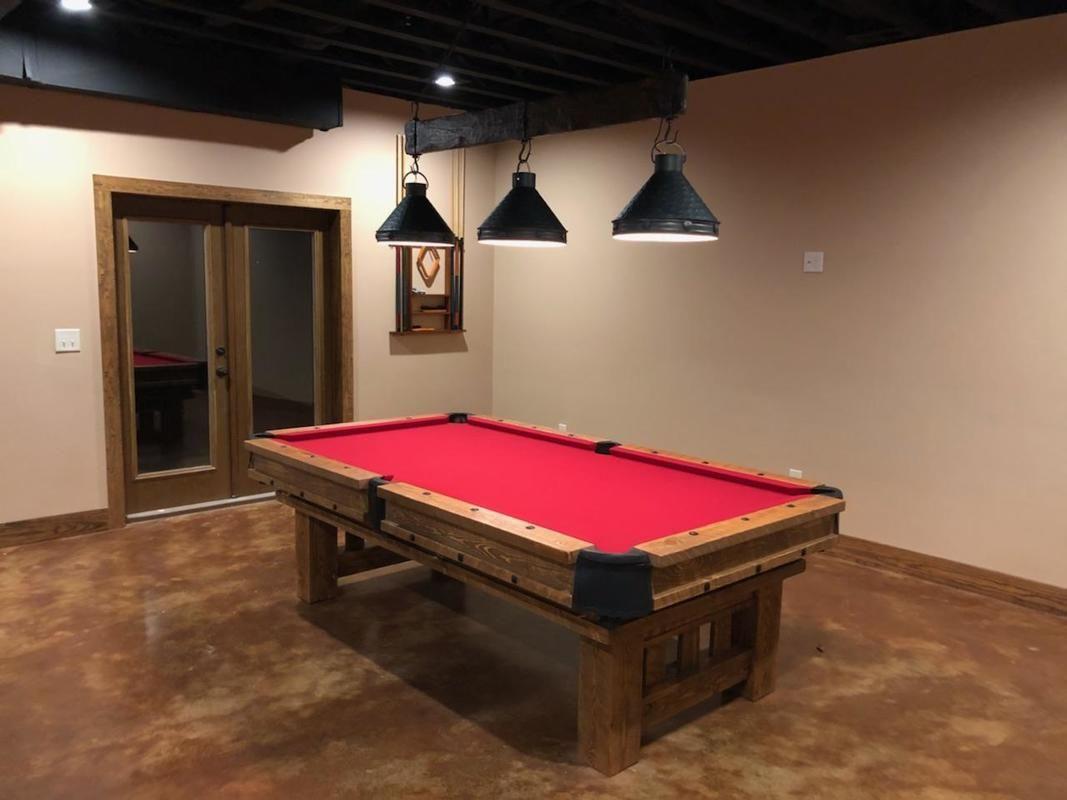 Generation log cabin pool lights pool table lighting