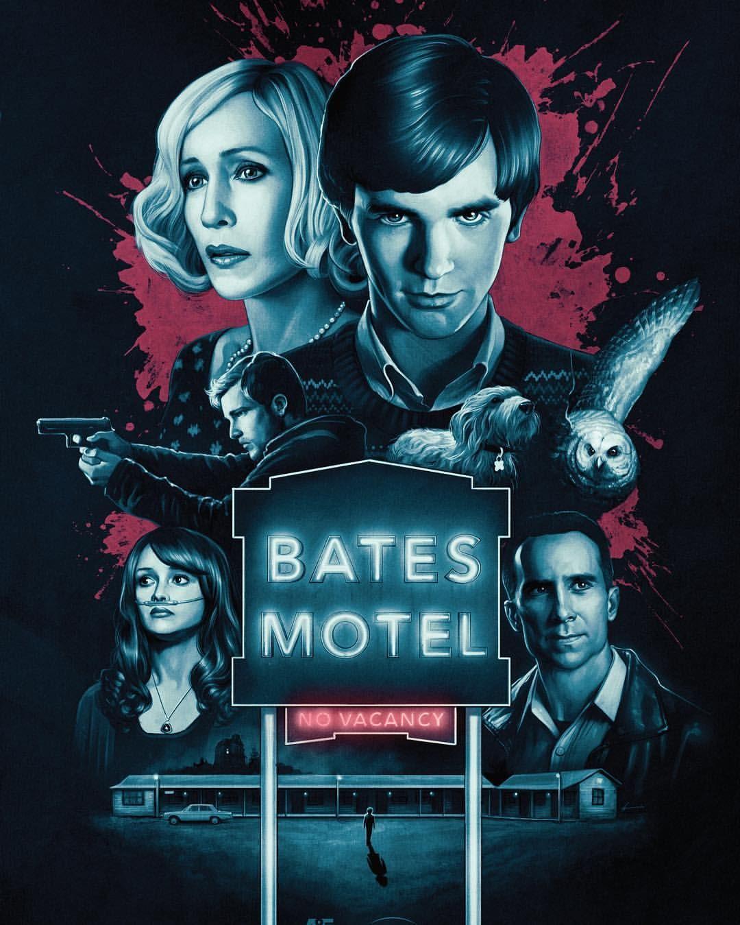 Bates Motel By Justin Erickson Bates Motel Norman Bates Motel