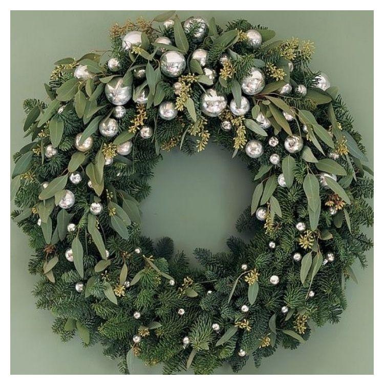 Nice 48 Inspirierend Weihnachten Kränze Ideen Für Alle Arten Von Dekor -  #48 #All #Christmas #Decor #For #Ideas #Inspiring #Of #Permalink #Permalinkto:48InspiringChristmasWreathsIdeasForAllTypesOfDécor #To #Types #Wreaths #adventsgesteckeideen
