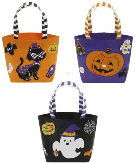 inspiration for ways to decorate the girls\u0027 halloween bags - decorate halloween bags