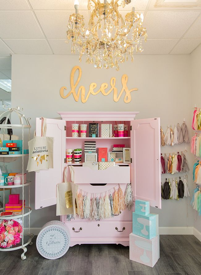 Touring The Happily Ever Etched Gifting Boutique Studio