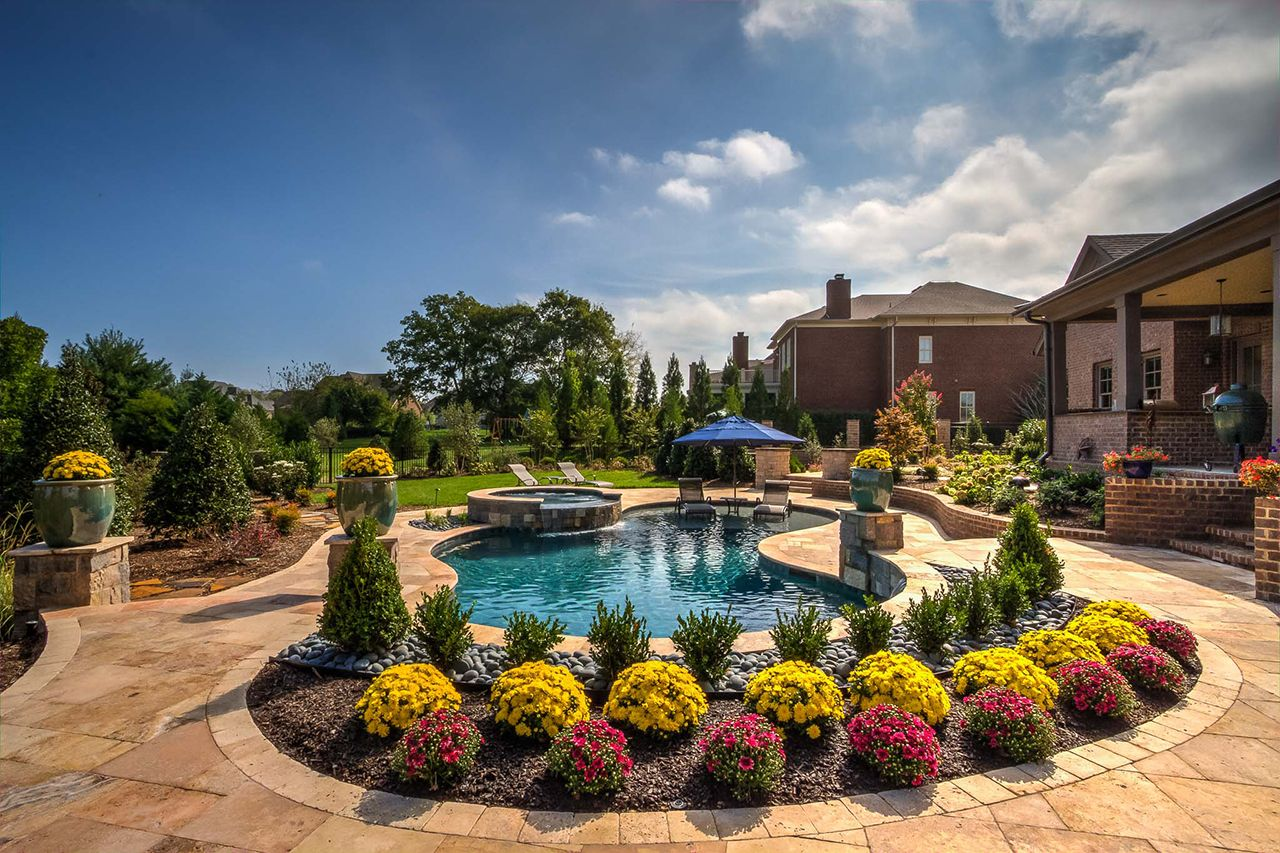 Southern Grace Pool Type: Organic + Spa Project Features ... on Southern Pools And Outdoor Living  id=13501