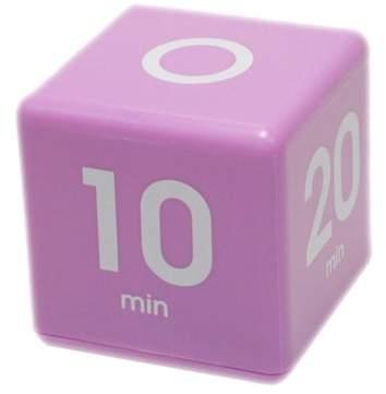 Datexx Cube Timer 5 10 20 30 Minute Preset Timer Purple Cube