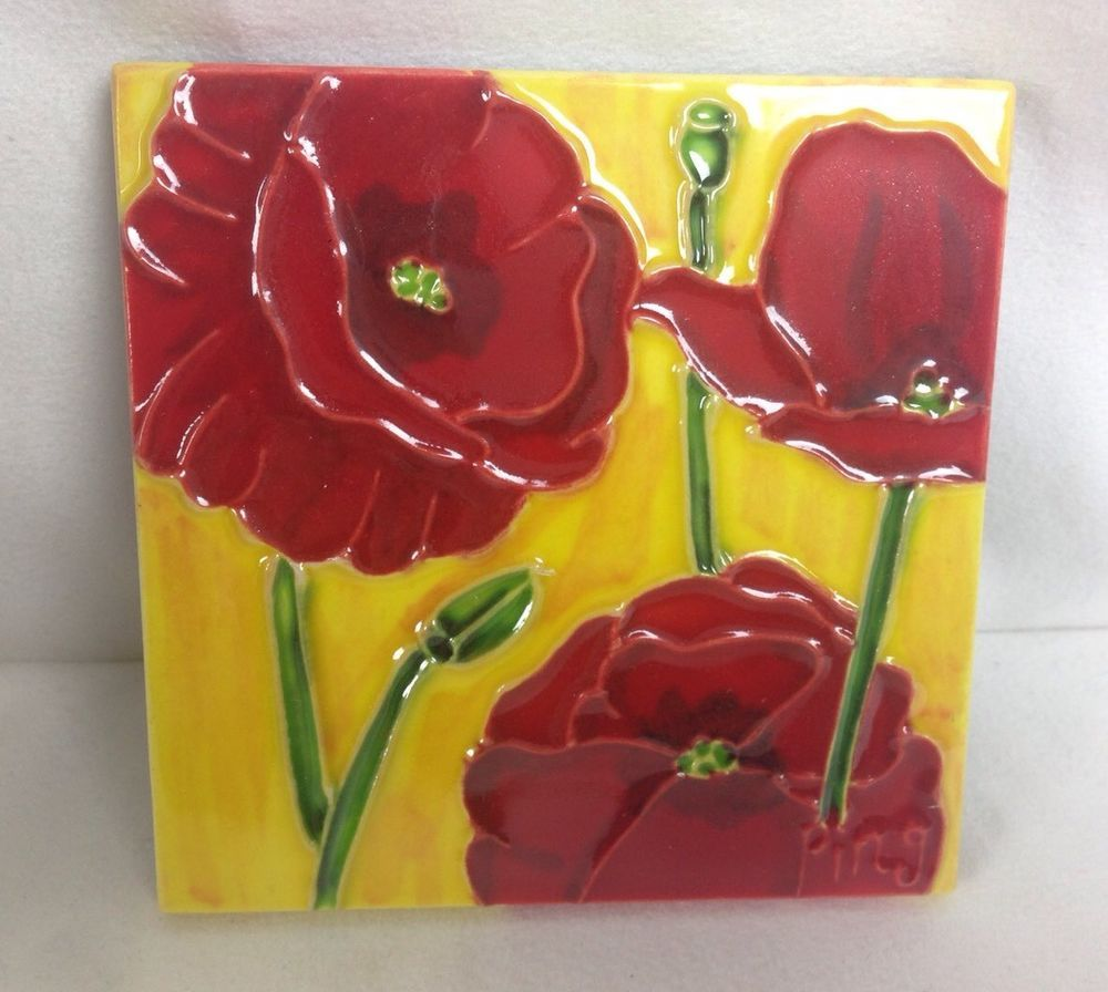 Ceramic Art Tile 4X4\