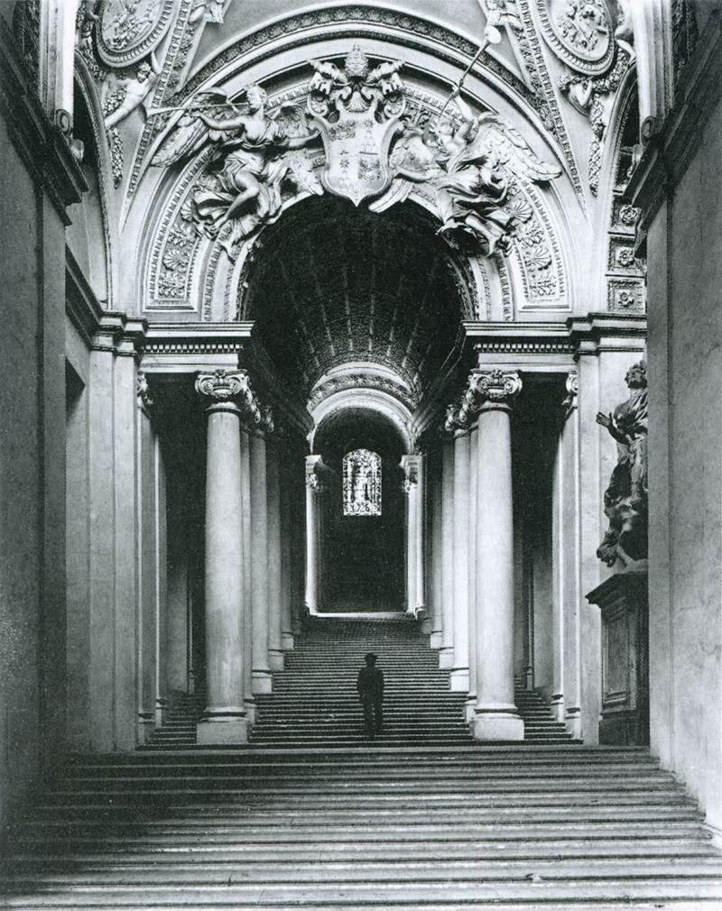 Titulo: Scala Regia. Año:1663-66. Autor: Antonio da Sangallo y ...