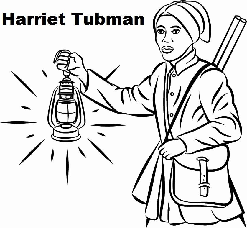 Harriet Tubman Coloring Page Inspirational Best Harriet Tubman Coloring Sheet Harriet Tubman Coloring Pages Black History Printables