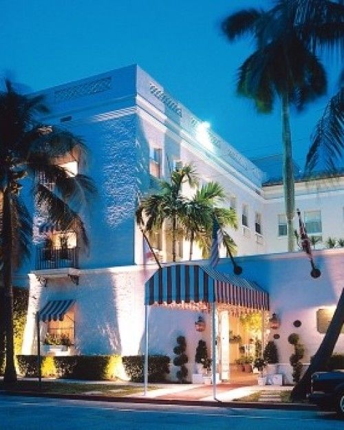 The Chesterfield Palm Beach Florida Just A Few Blocks From Atlantic Ocean Has 53 Uniquely Designed Rooms Jetsetter