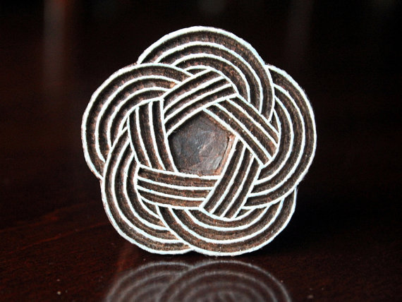 Mooie Houten Stempels.Indiase Houten Stempels Batik Stempels Tjaps Houten Blok Zegels