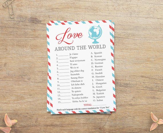 cdfef88f5b8 Love Around The World Game