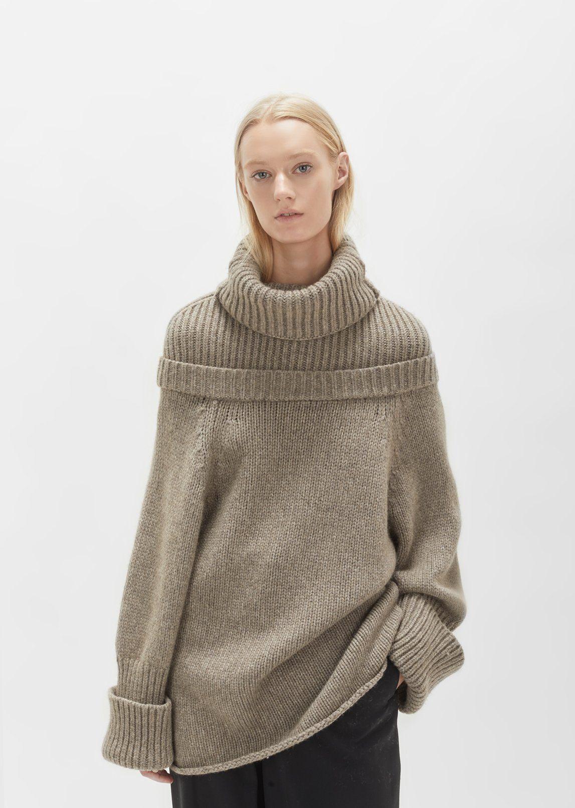 Mock Neck Knit by J.W. Anderson- La Garçonne