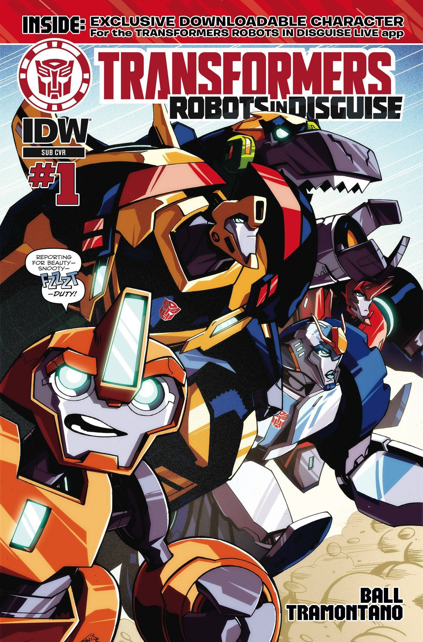 Transformers Robots In Disguise Animated (2015) Issue 1