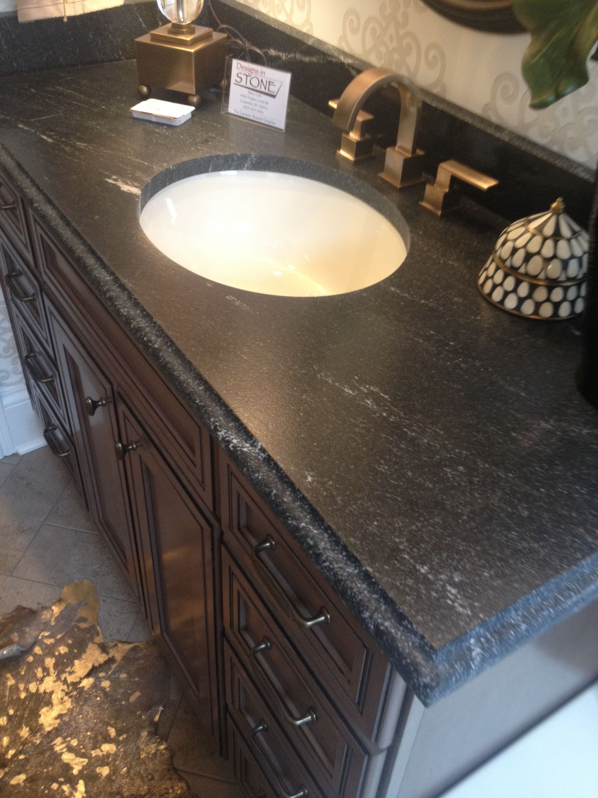 Via Lactea Suede Vanity Top Suede Is The Surface Finish