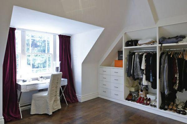 Ankleidezimmer ideen ~ Ankleidezimmer dachschräge u2013 ein attraktives ankleidezimmer