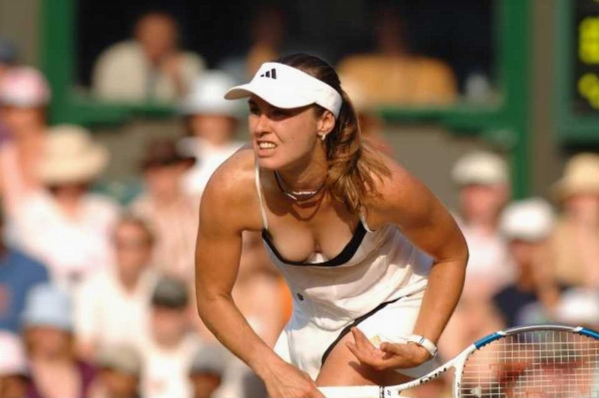 player downblouse Tennis