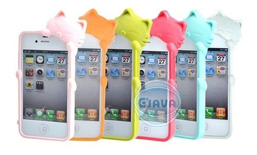 cover silicone iphone 4