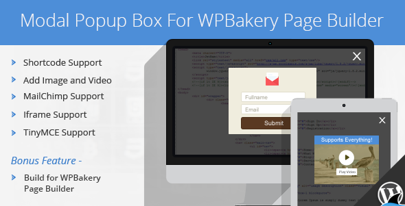 Modal Popup Box For WPBakery Page Builder | Best Premium WordPress