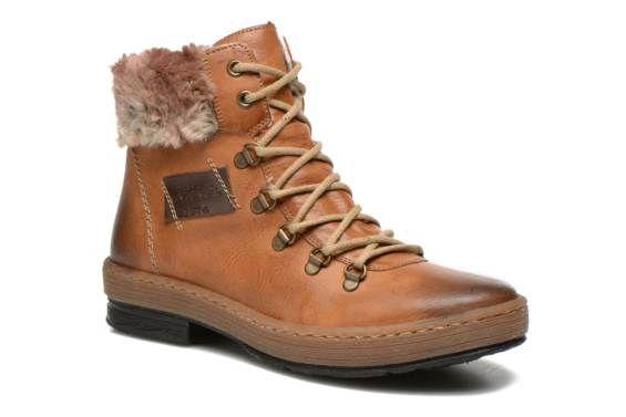 chaussures de séparation bdad9 0ade4 Rieker Ilam Z6743 (Marron) - Bottines et boots chez Sarenza ...