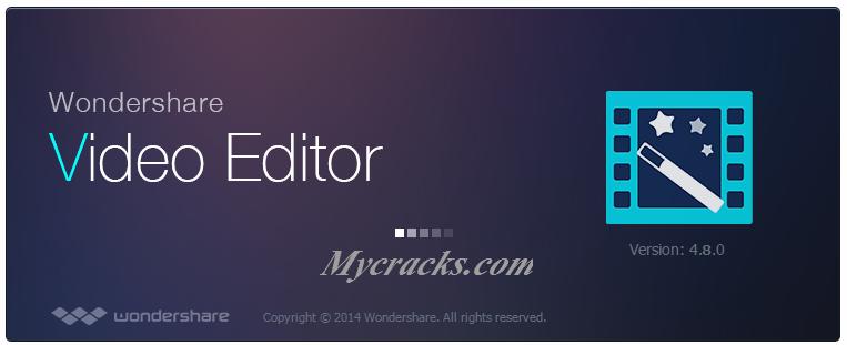 wondershare video editor with serial key