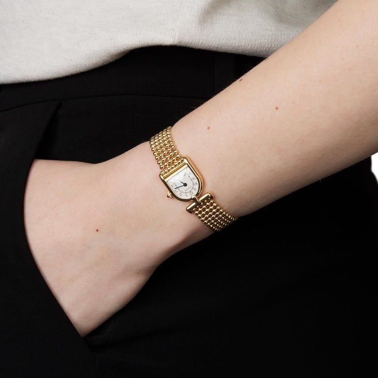 Cartier Romane Yellow Gold Wristwatch