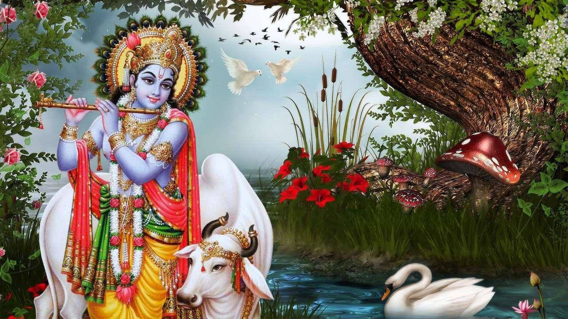 Hd wallpaper of lord krishna - Radha Krishna Pictures Krishna Wallpaper Lord Krishna Festivals Summary Wallpapers About You Html Hindus